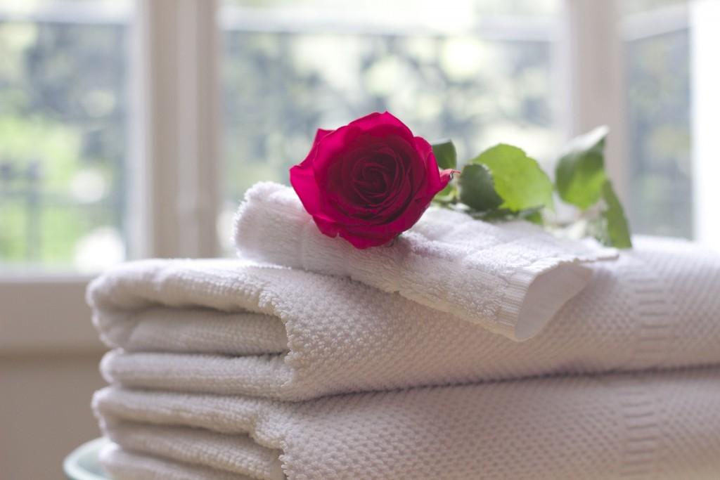 Handtücher regelmäßig wechseln